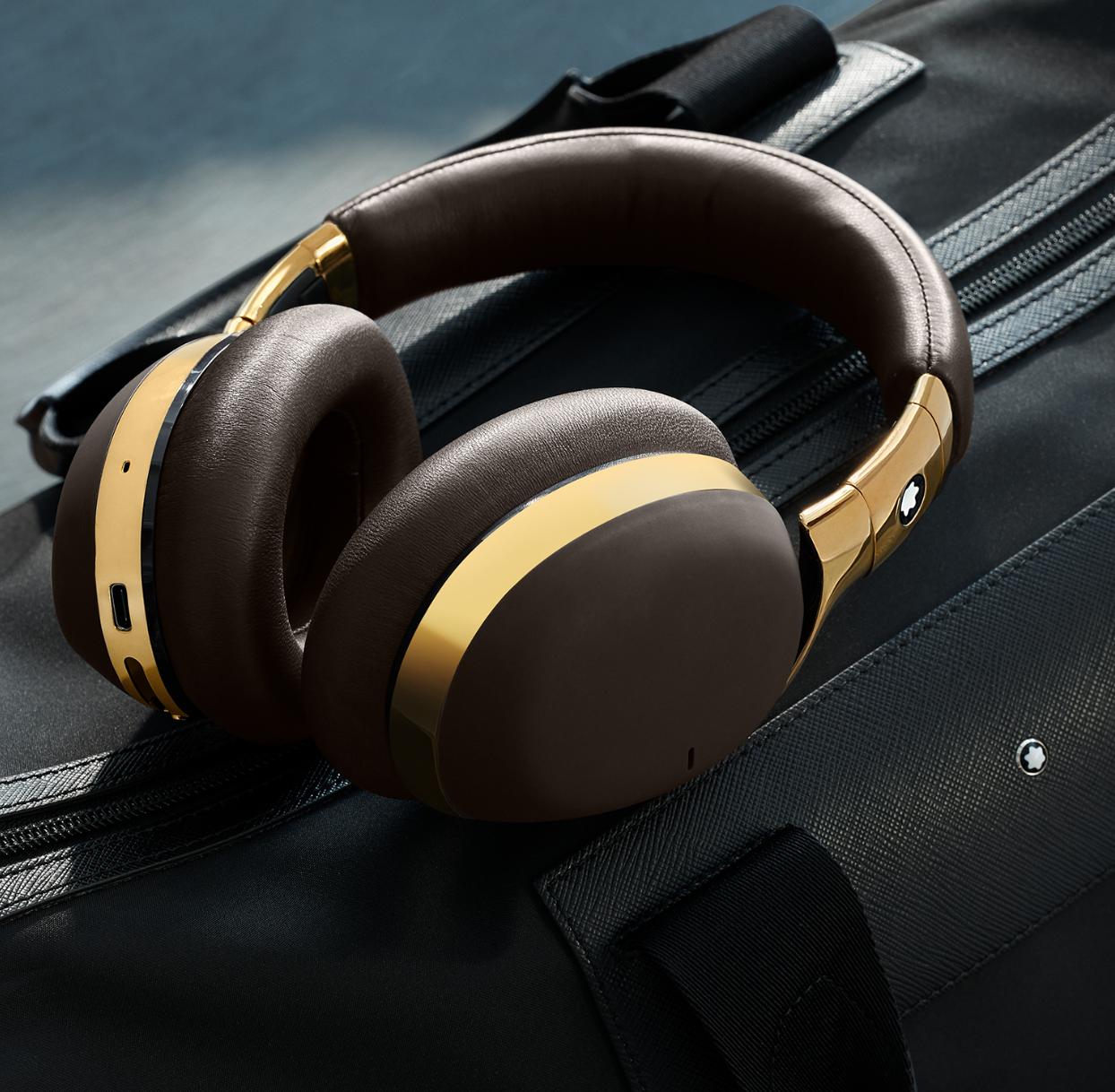 nuevos audífonos inalámbricos de Montblanc