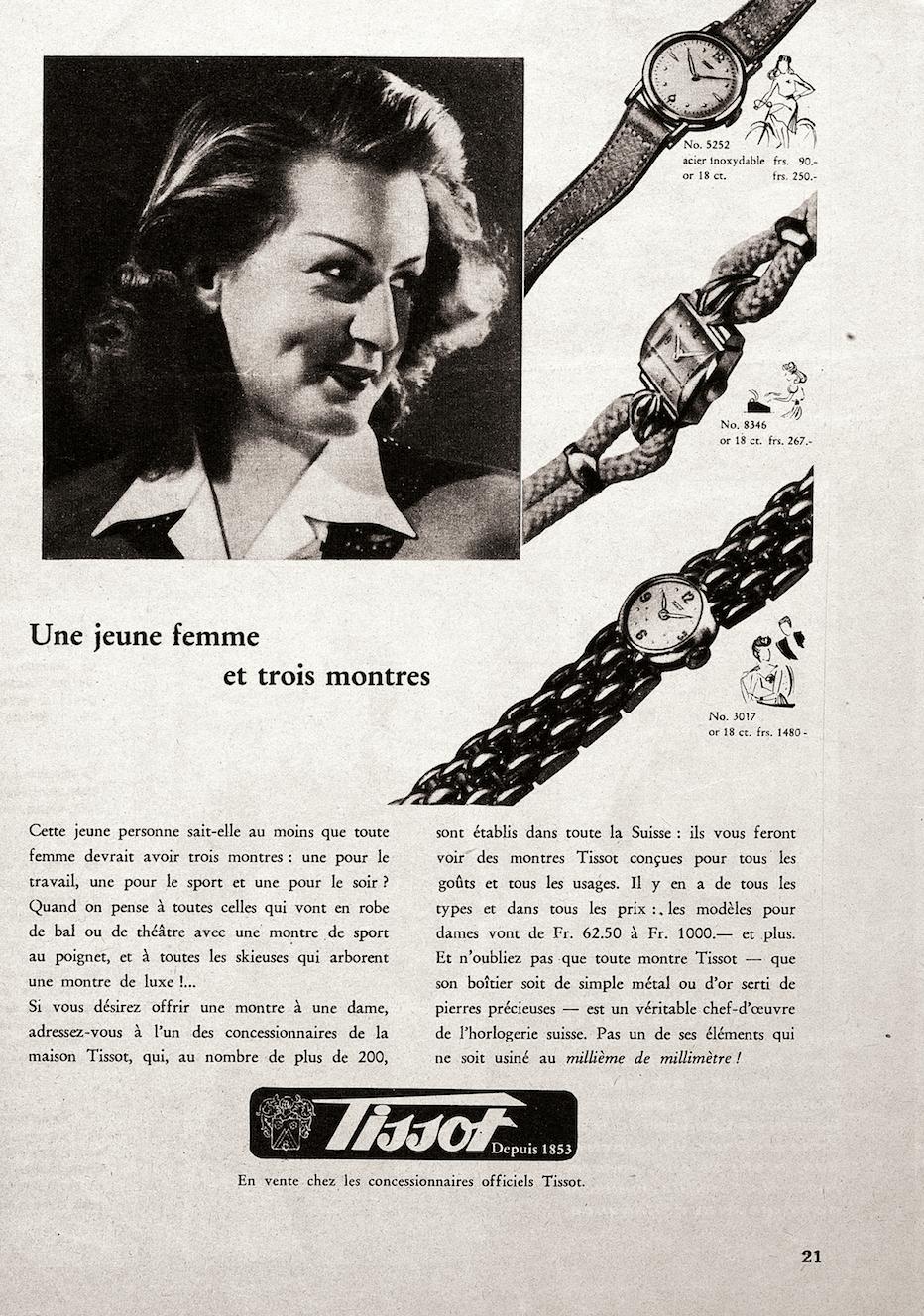 Las mujeres Tissot