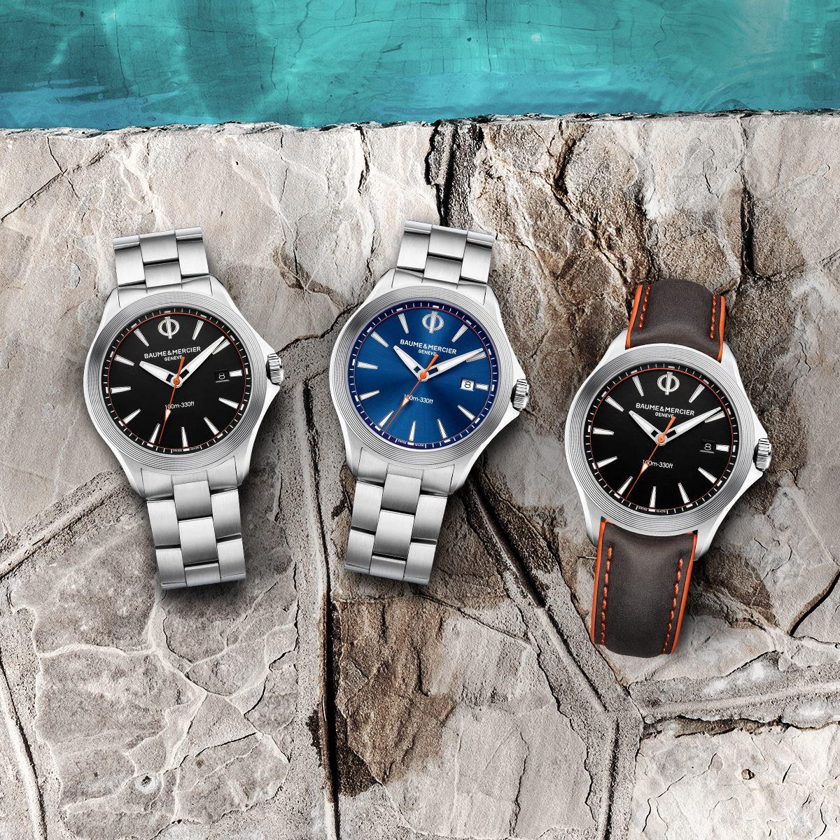 Baume Mercier_CLIFTON_CLUB trio