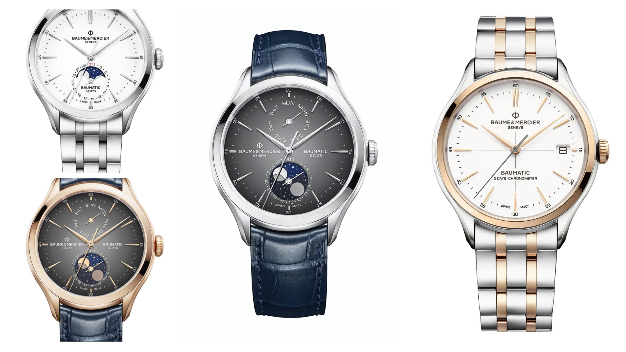 Baume et Mercier Clifton Baumatic Coleccion 2020 Watches Wonders-slider