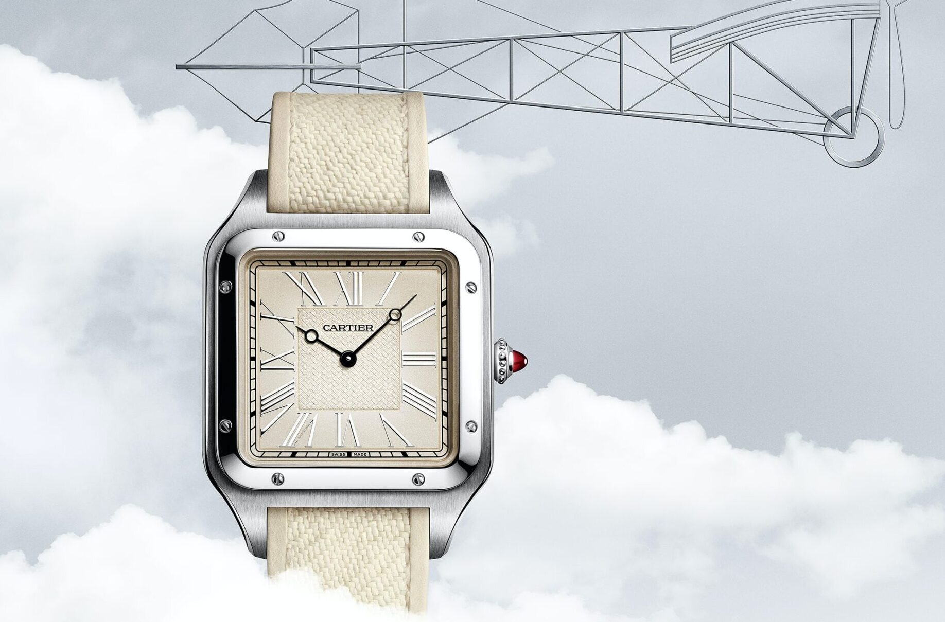 Cartier Santos-Dumont La Demoiselle Limited Edition Watches and Wonders-