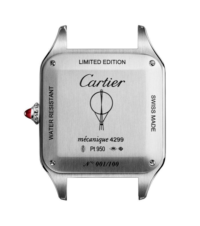 Cartier-Santos-Dumont-Limited-Edition-Le Bresil platino fondo