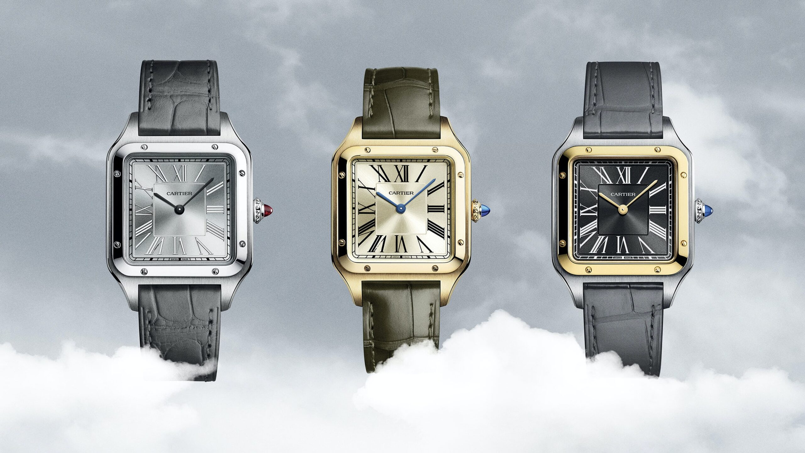 Cartier-Santos-Dumont-Limited-Edition-trio