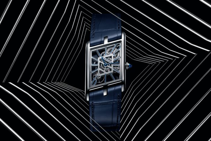 Cartier Tank Asymetrique Skeleton-Watches Wonders 2020-