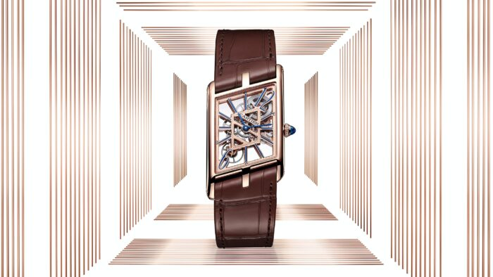 Cartier Tank Asymetrique Skeleton-Watches Wonders 2020-2