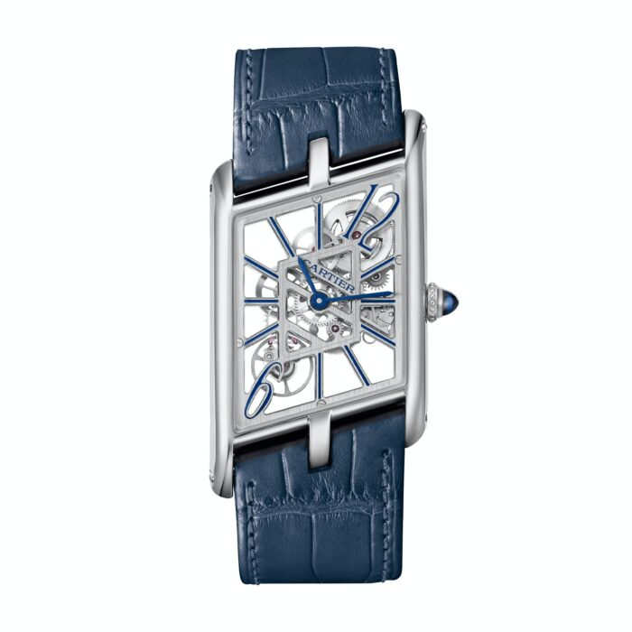Cartier Tank Asymetrique Skeleton-Watches Wonders 2020-6