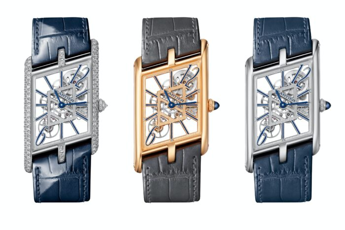 Cartier Tank Asymetrique Skeleton-Watches Wonders 2020-7