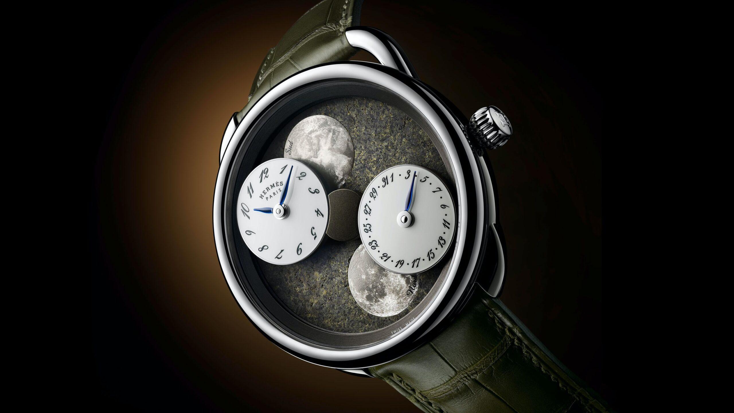 Hermes Arceau L Heure de la Lune 2020 Watches Wonders-