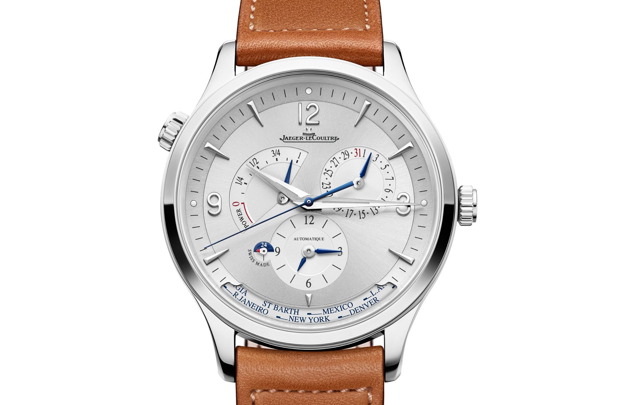 Jaeger-LeCoultre Master Control Geographic-