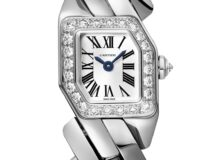 Maillon de Cartier oro blanco diamantes