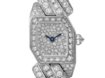 Maillon de Cartier pave diamantes oro blanco