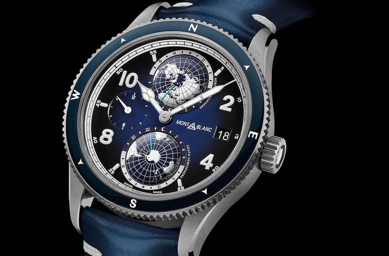Montblanc-Geosphere-Titanium-Blue