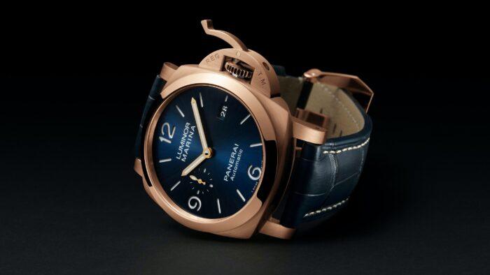 Panerai Luminor Marina 44 mm Goldtech Watches Wonders 2020-2