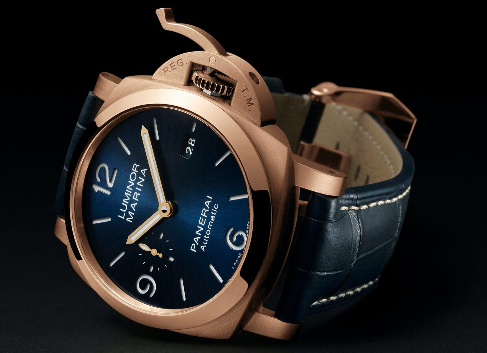Panerai Luminor Marina 44 mm Goldtech Watches Wonders 2020-2
