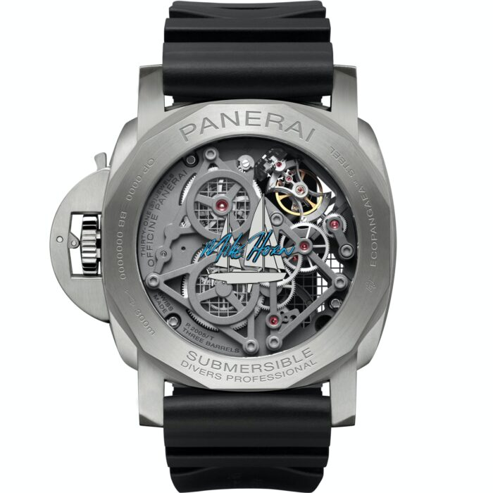 Panerai Sumergible EcoPangaea Tourbillon GMT 50mm-Watches Wonders-