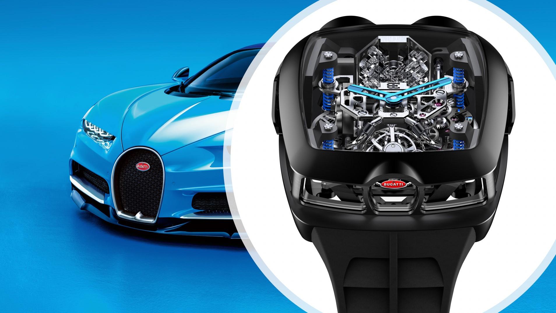 Bugatti Chiron Tourbillon by Jacob & Co * Watches World ...