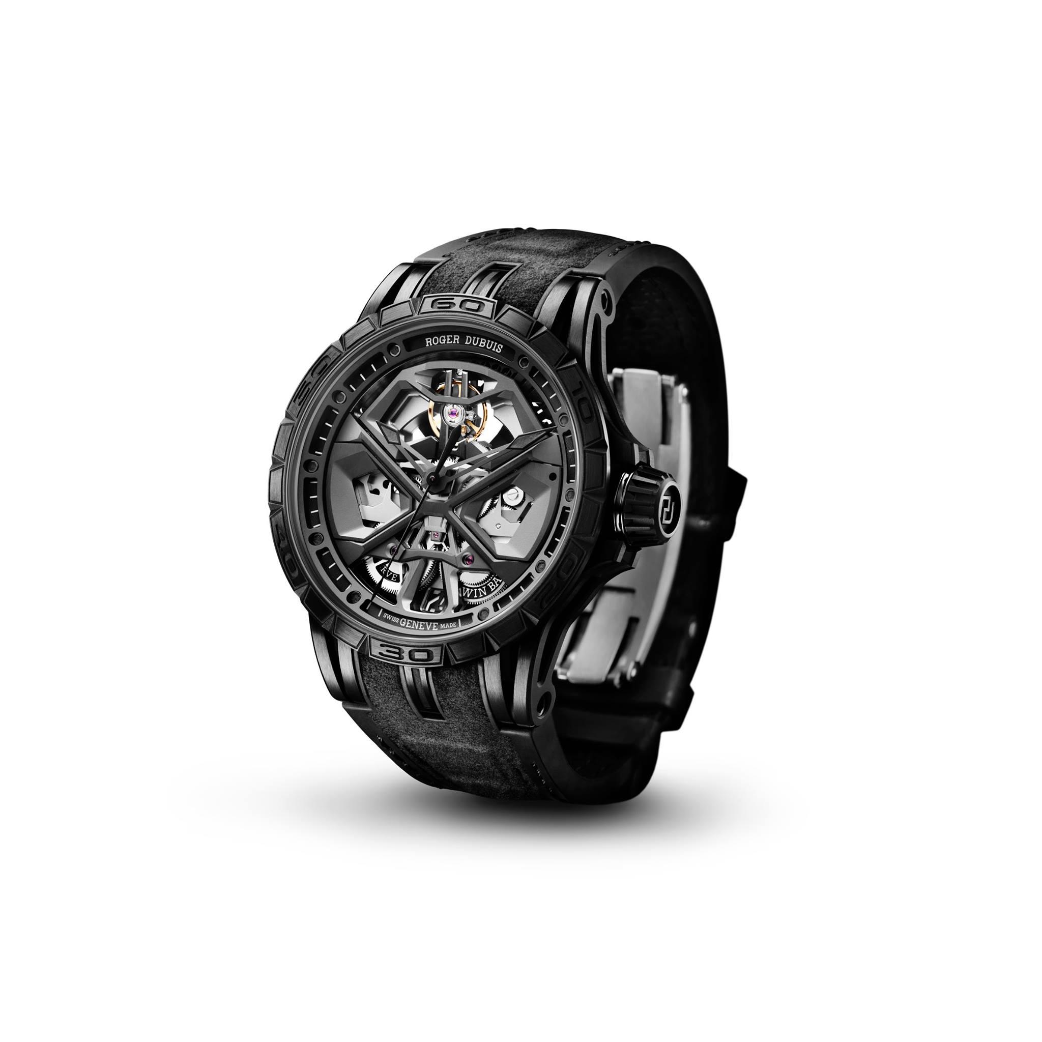 Roger Dubuis Excalibur Total Black 2020-2