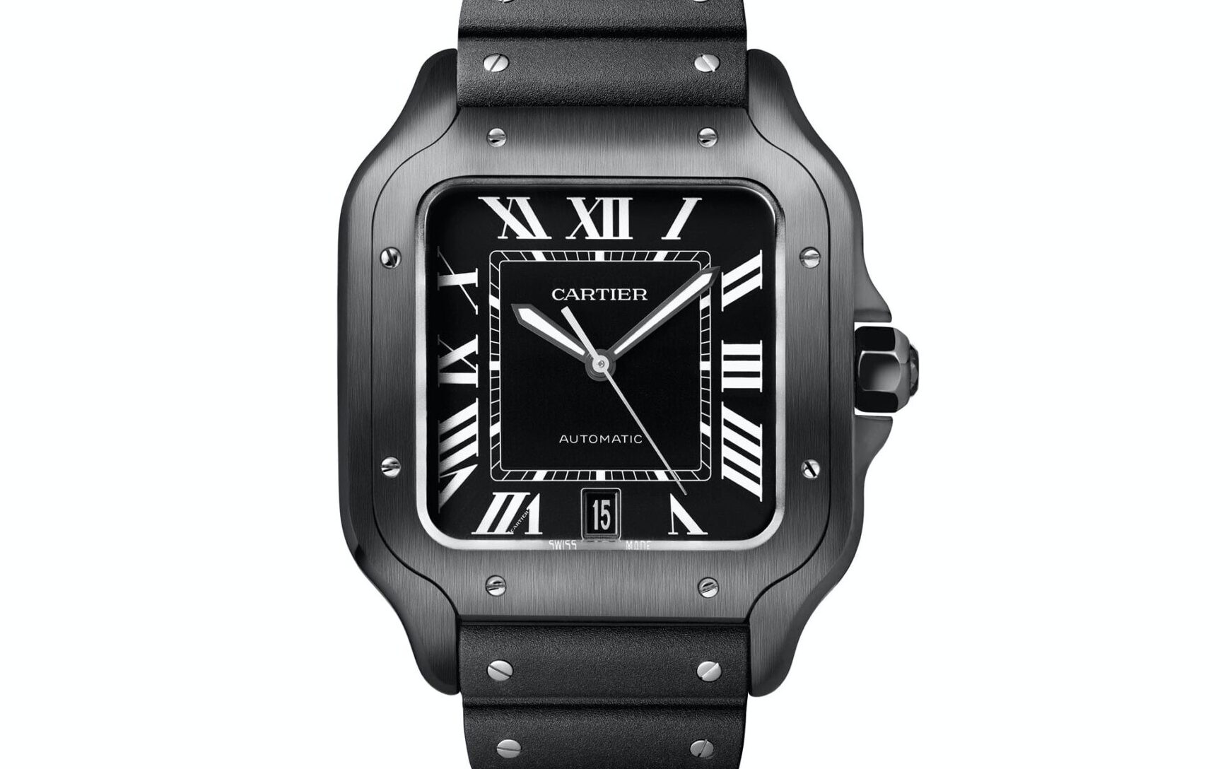 Santos de Cartier All Black