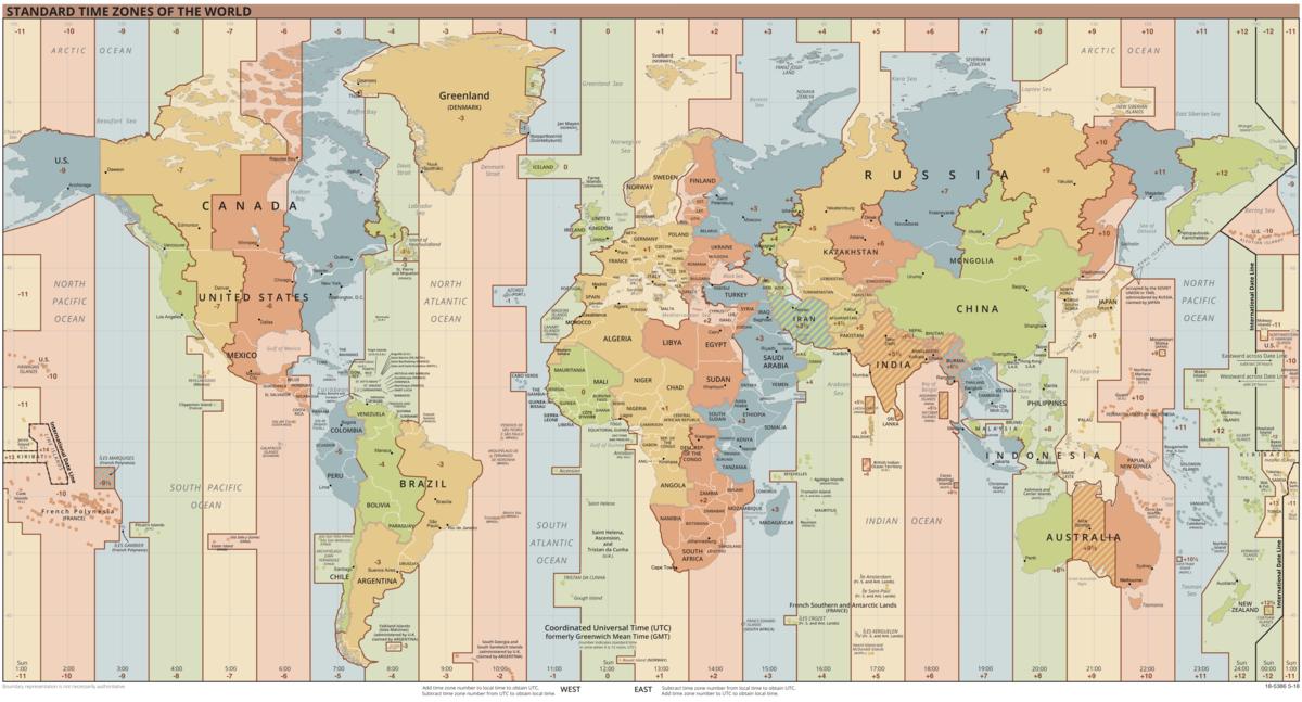 UTC - Map