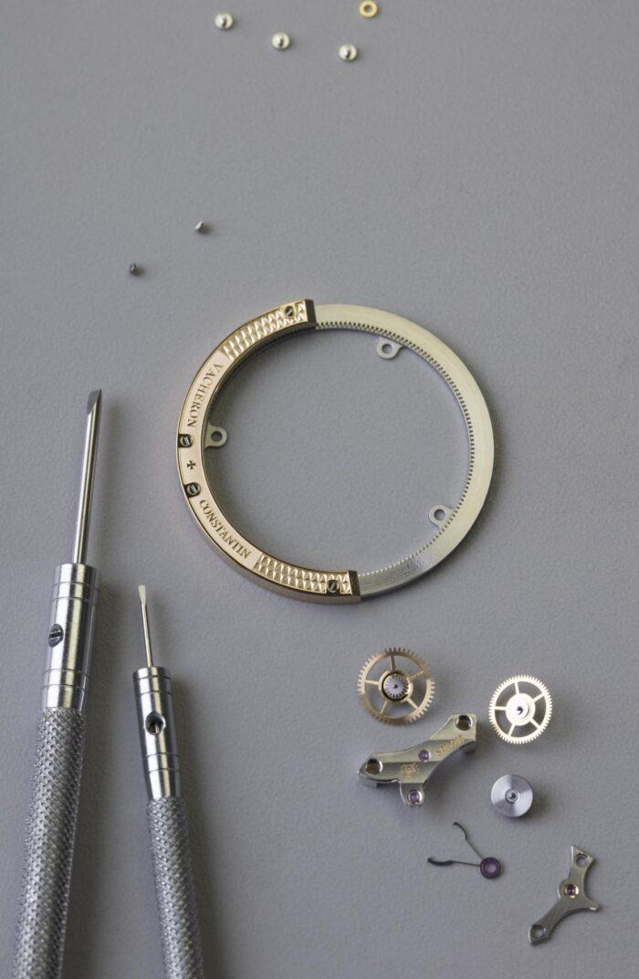Vacheron Constantin Traditionnelle Tourbillon y Jewelry-rotor periferico