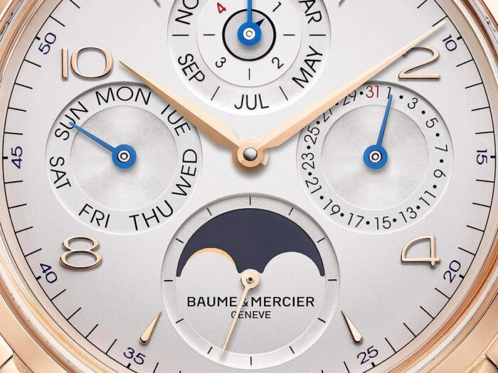 Baume et Mercier Clifton Calendario Perpetuo-