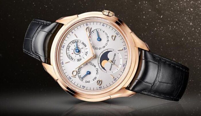 Baume et Mercier Clifton Calendario Perpetuo-5