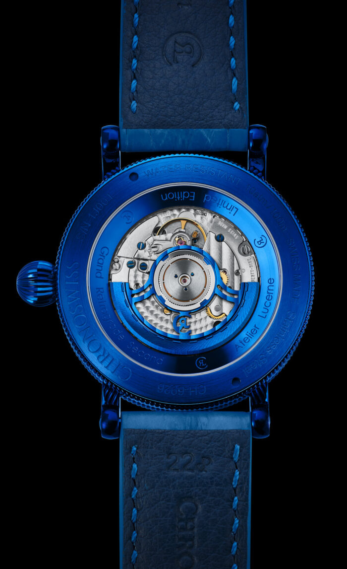 Chronoswiss Open Gear ReSec-fondo