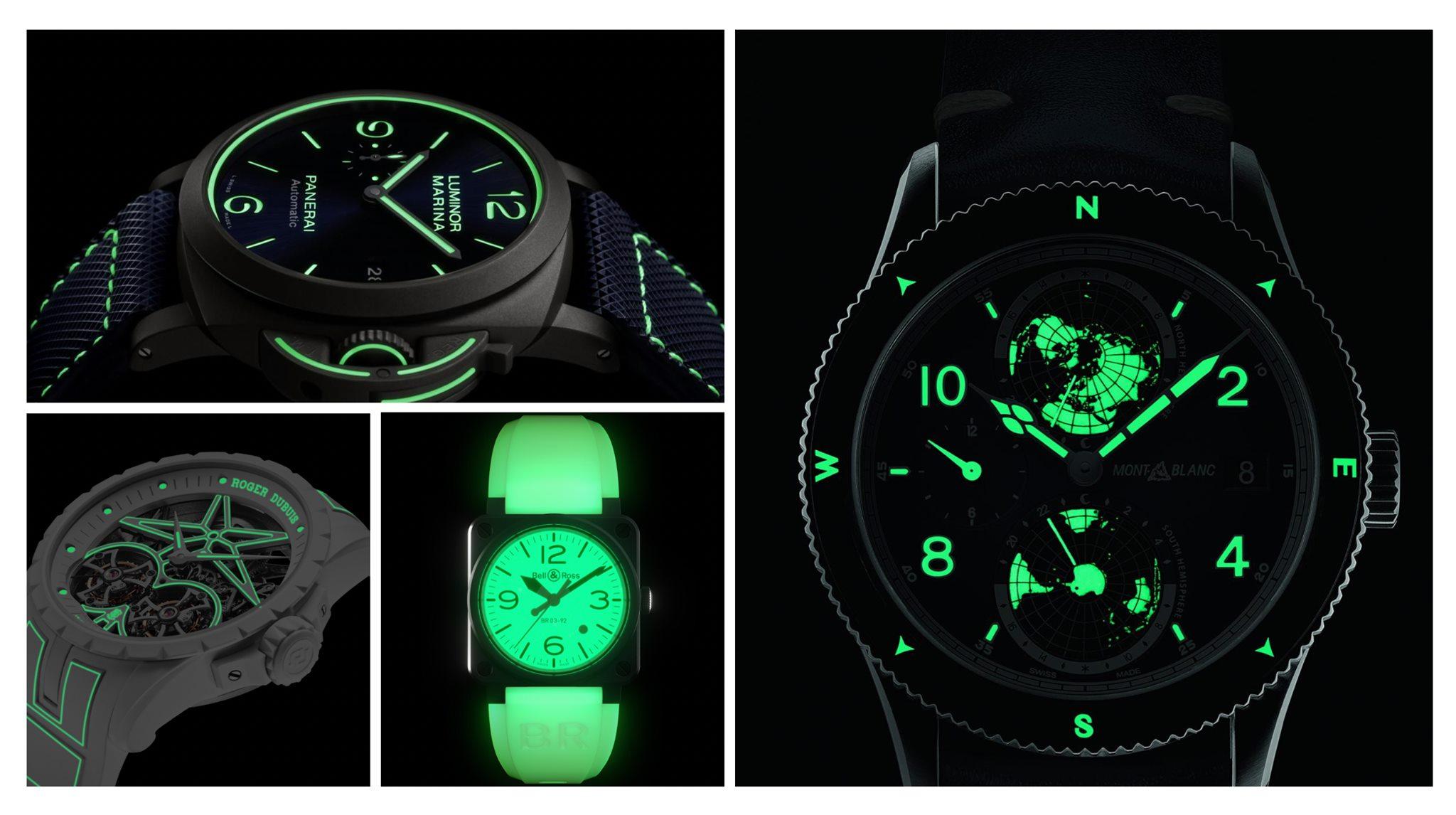 Historia de la Luminiscencia relojera