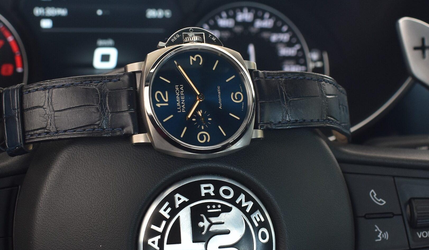 Shooting Alfa Romeo y Panerai