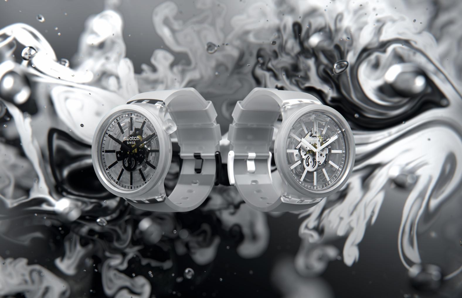 Swatch Big Bold Jelly, el nuevo dúo de la relojería