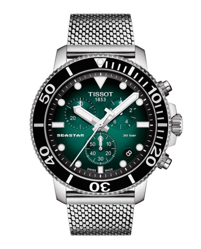 Tissot Seastar 1000 Crono y Powermatic Green-pack