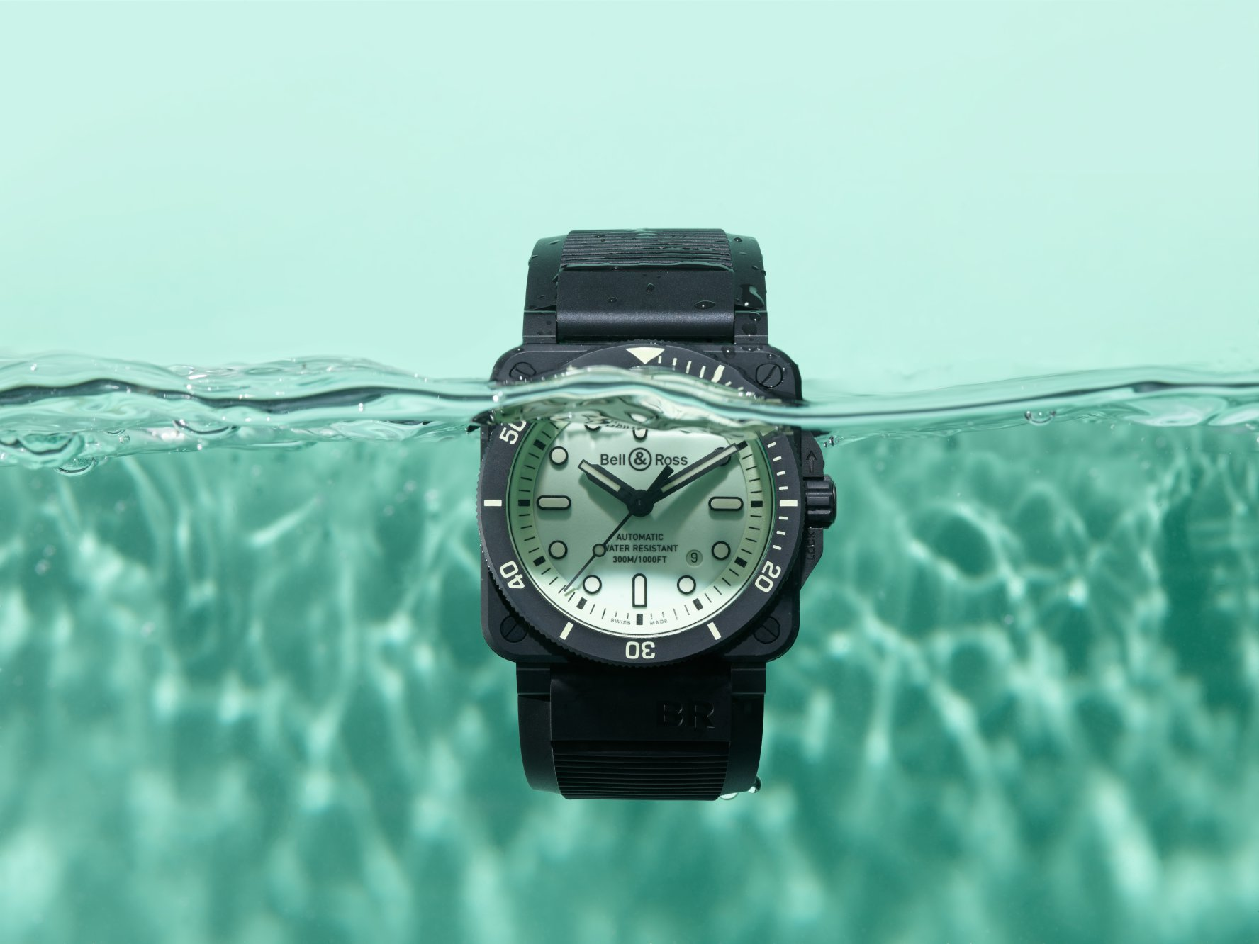 BR 03-92 Diver Full Lum Limited Edition Ocean