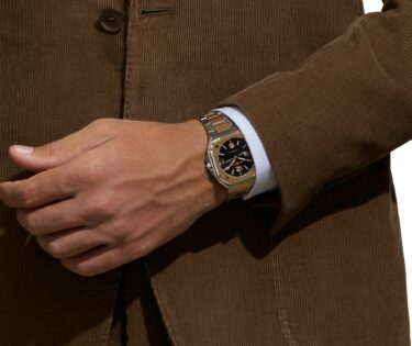 Bell Ross BR 05 Steel and Gold suit