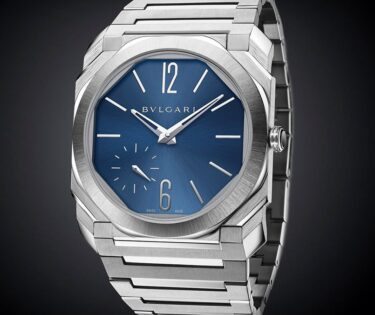 Bvlgari Octo Finissimo Automatic Steel Blue Dial-slider