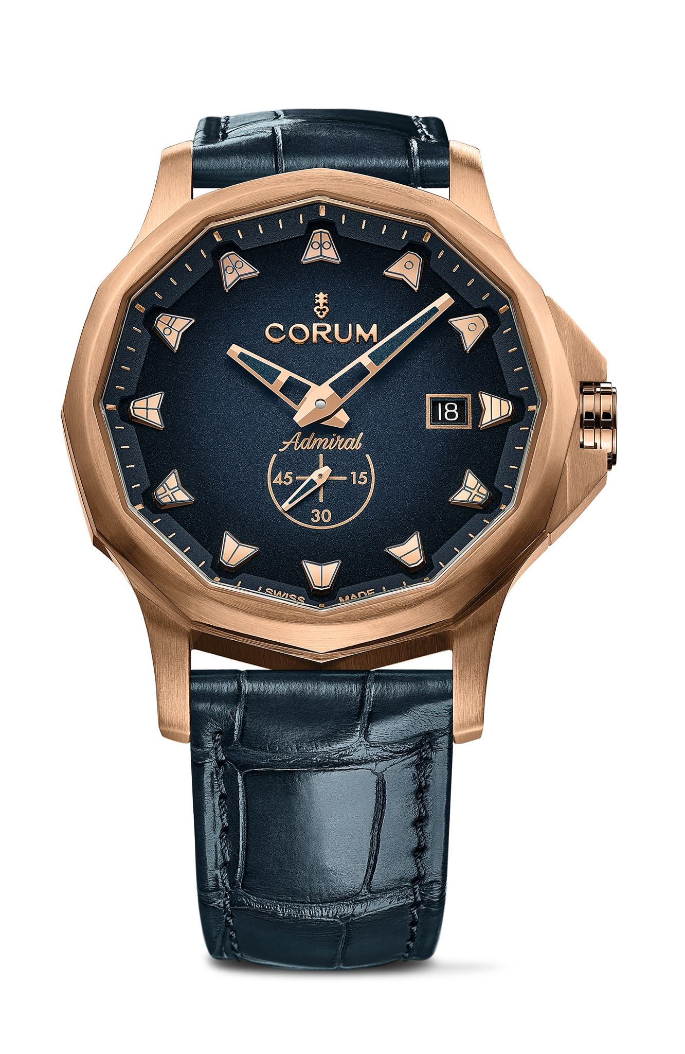 Corum Admiral Bronze blue