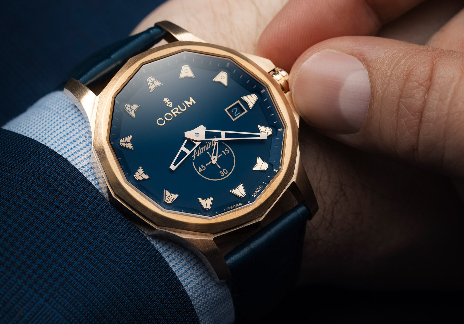 Corum Admiral Bronze