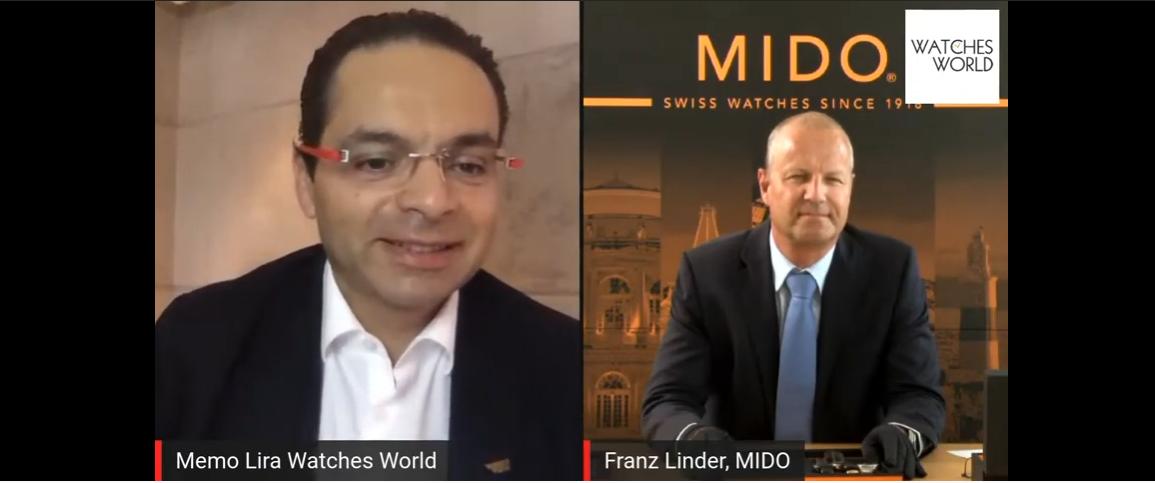 Conoce los nuevos relojes de Mido en voz de Franz Linder