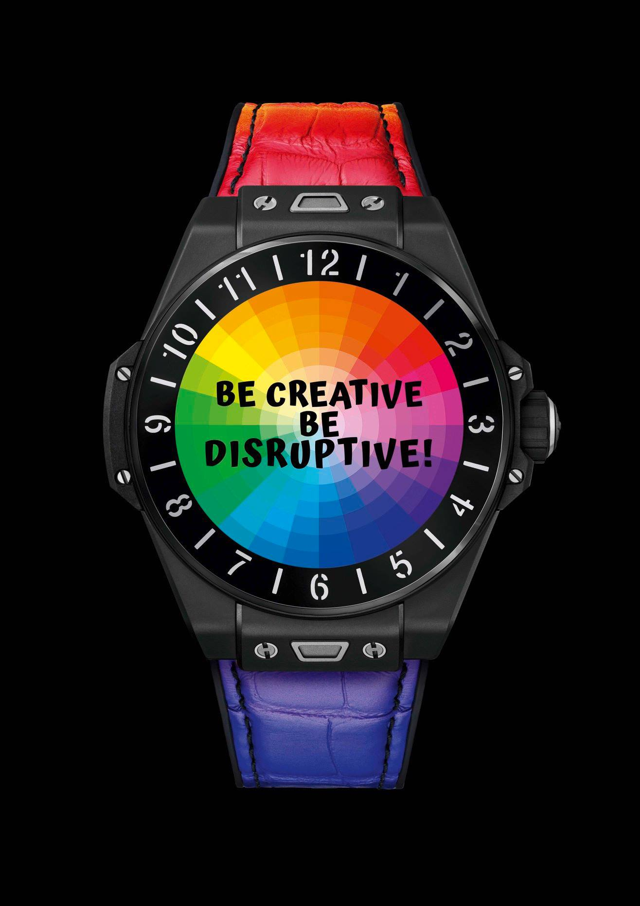 Hublot Big Bang e- Marc Ferrro Rainbow