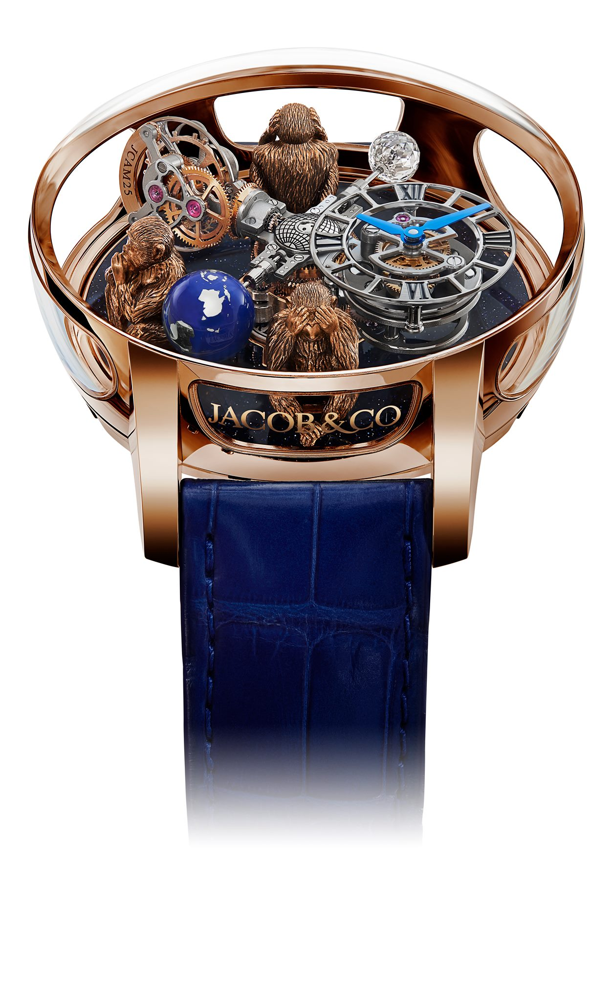 Jacob and Co Astronomia Art Three Monkeys-
