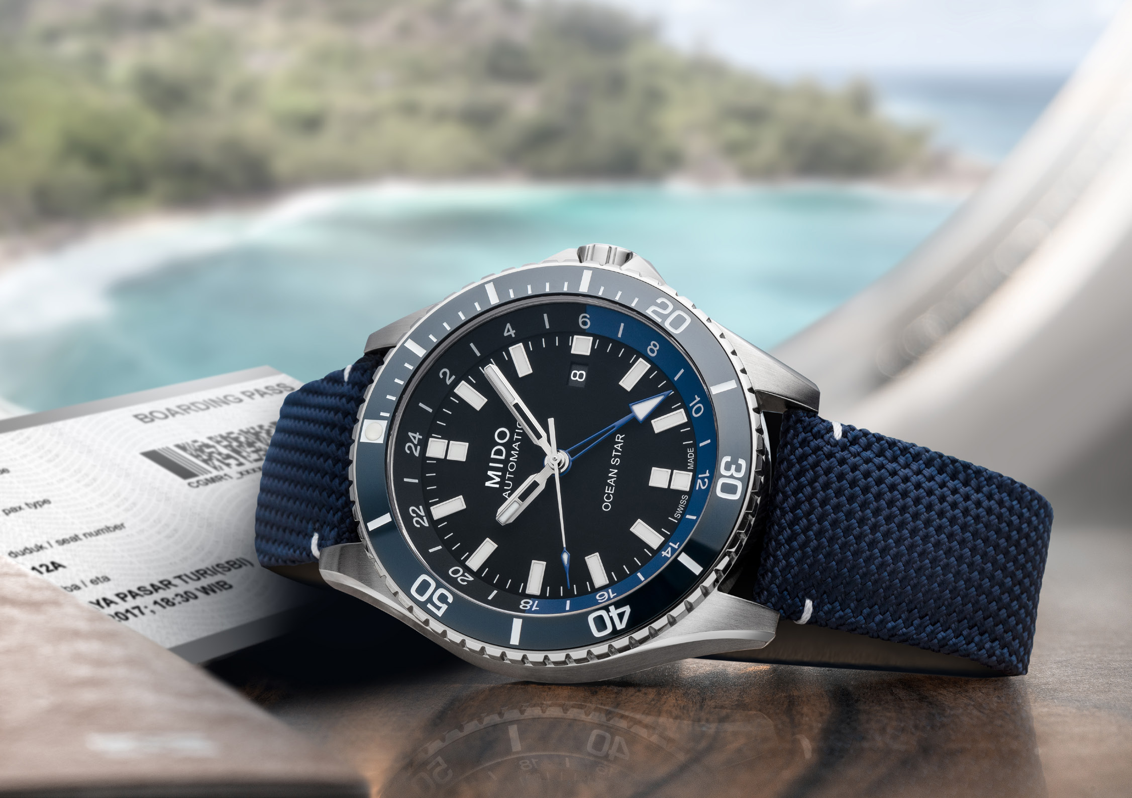 MIDO Ocean Star GMT-2020-3