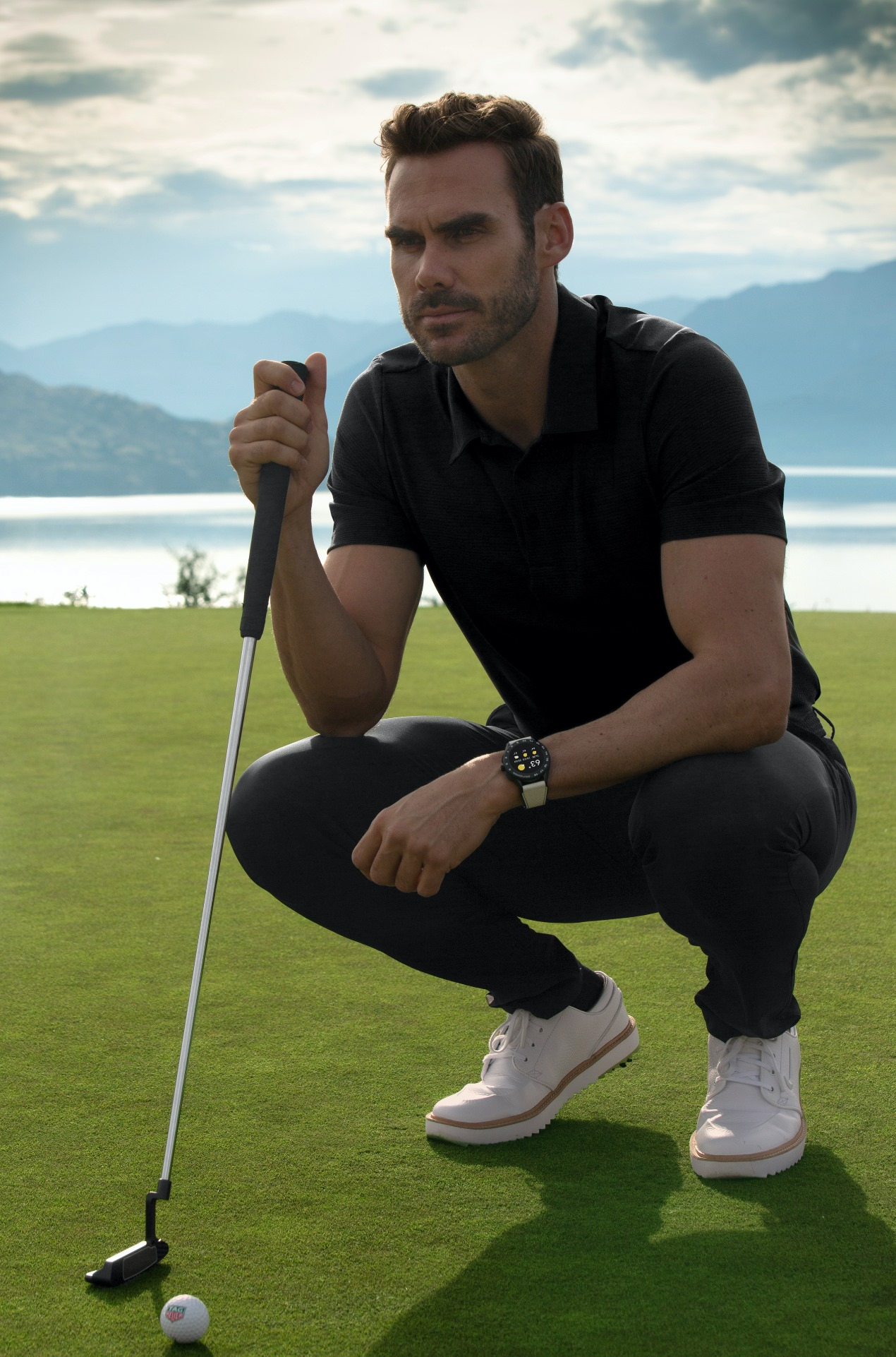 TAG Heuer Connected Golf Edition-life style