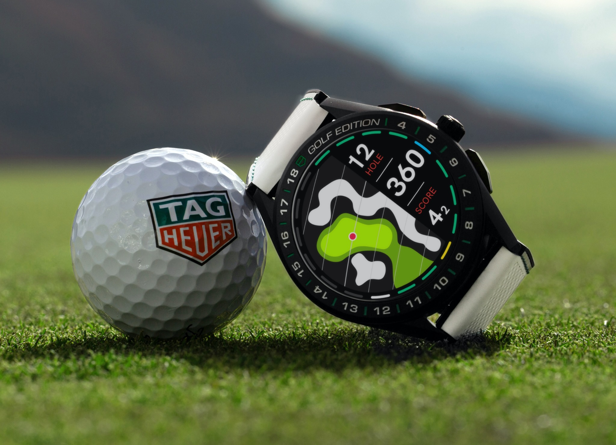 TAG Heuer Connected Golf Edition-mood
