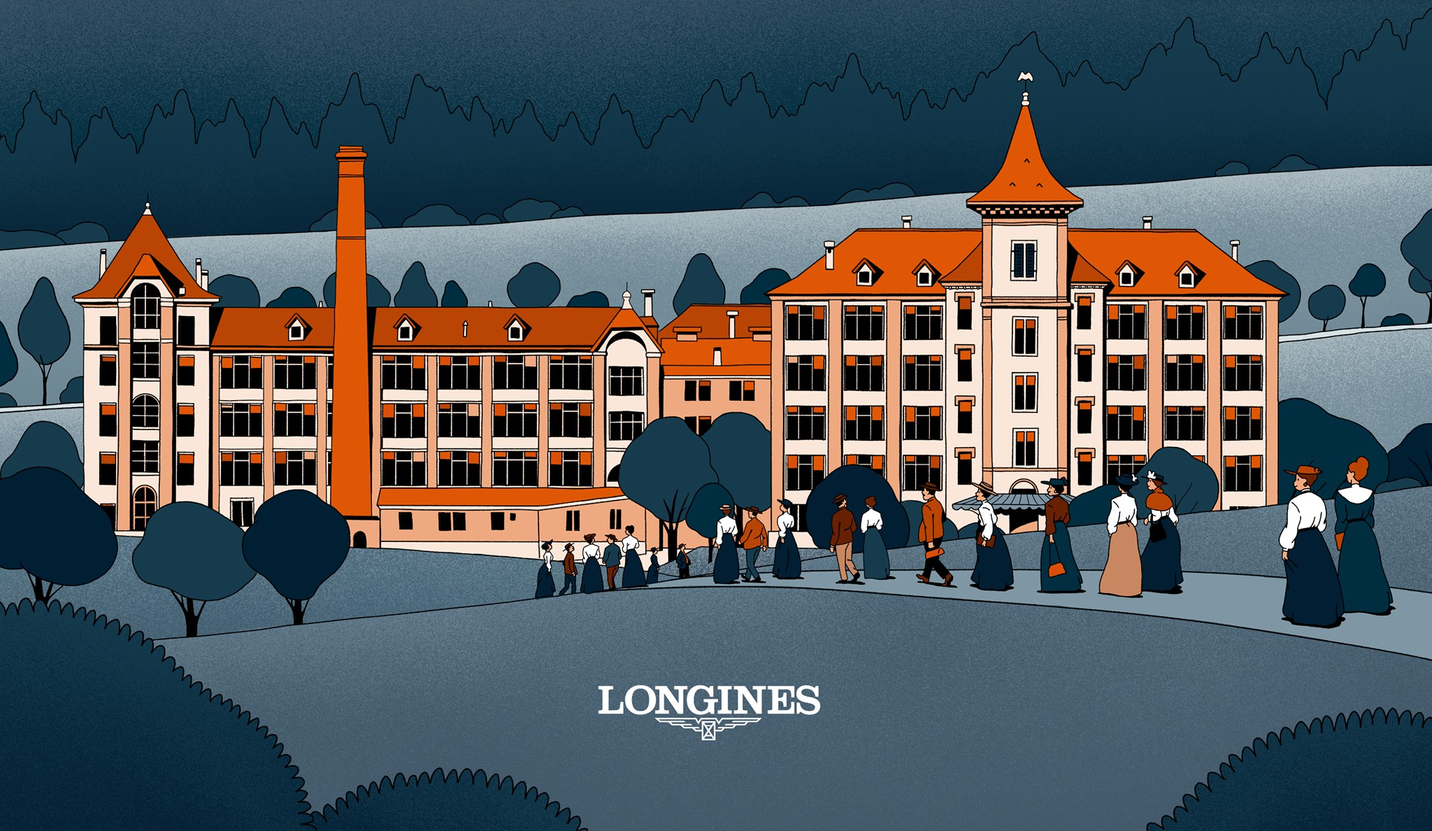 The Longines 1832-manufacture