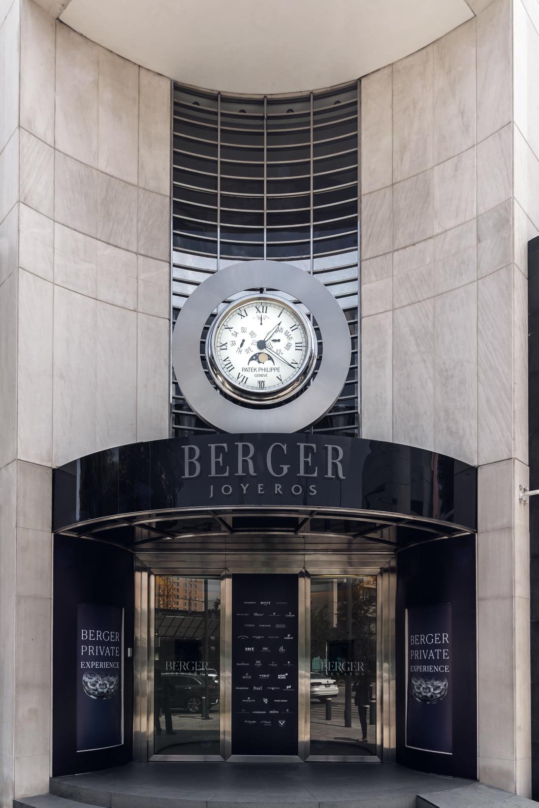 Berger anuncia la reapertura de sus boutiques Masaryk