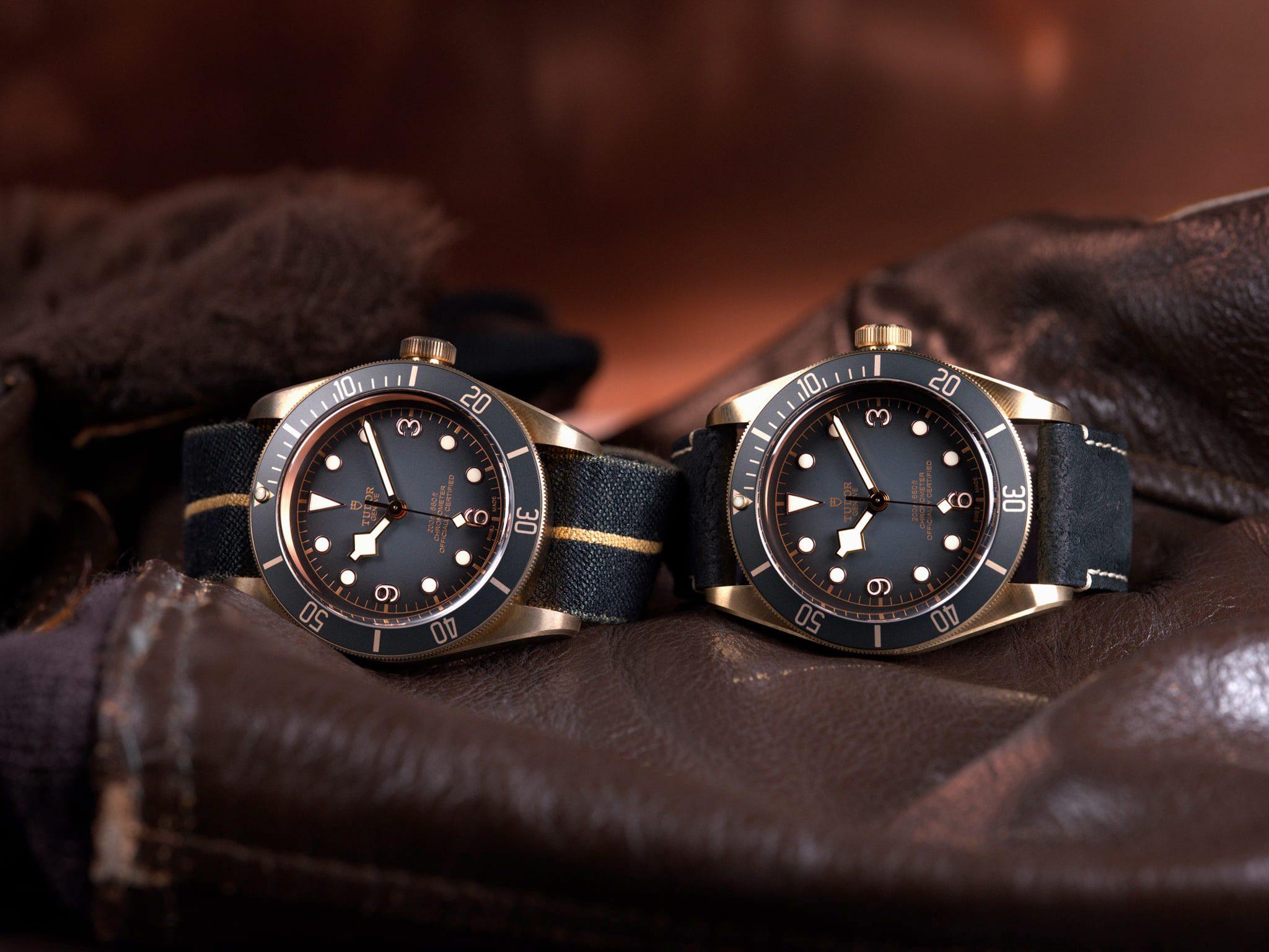 Heritage Naval Tudor - Black Bay Bronze y Zurdos