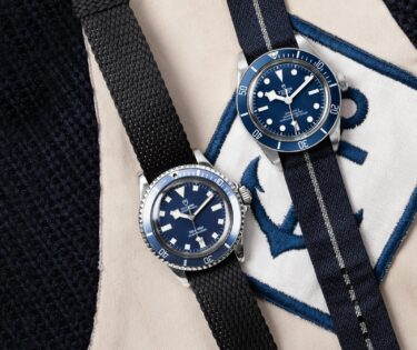 Heritage Naval Tudor - Oyster Prince Submariner y Black Bay Navy Blue