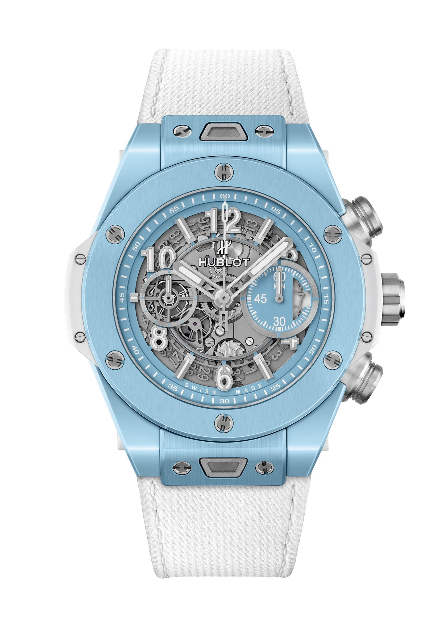 Hublot Big Bang Unico Sky Blue pack