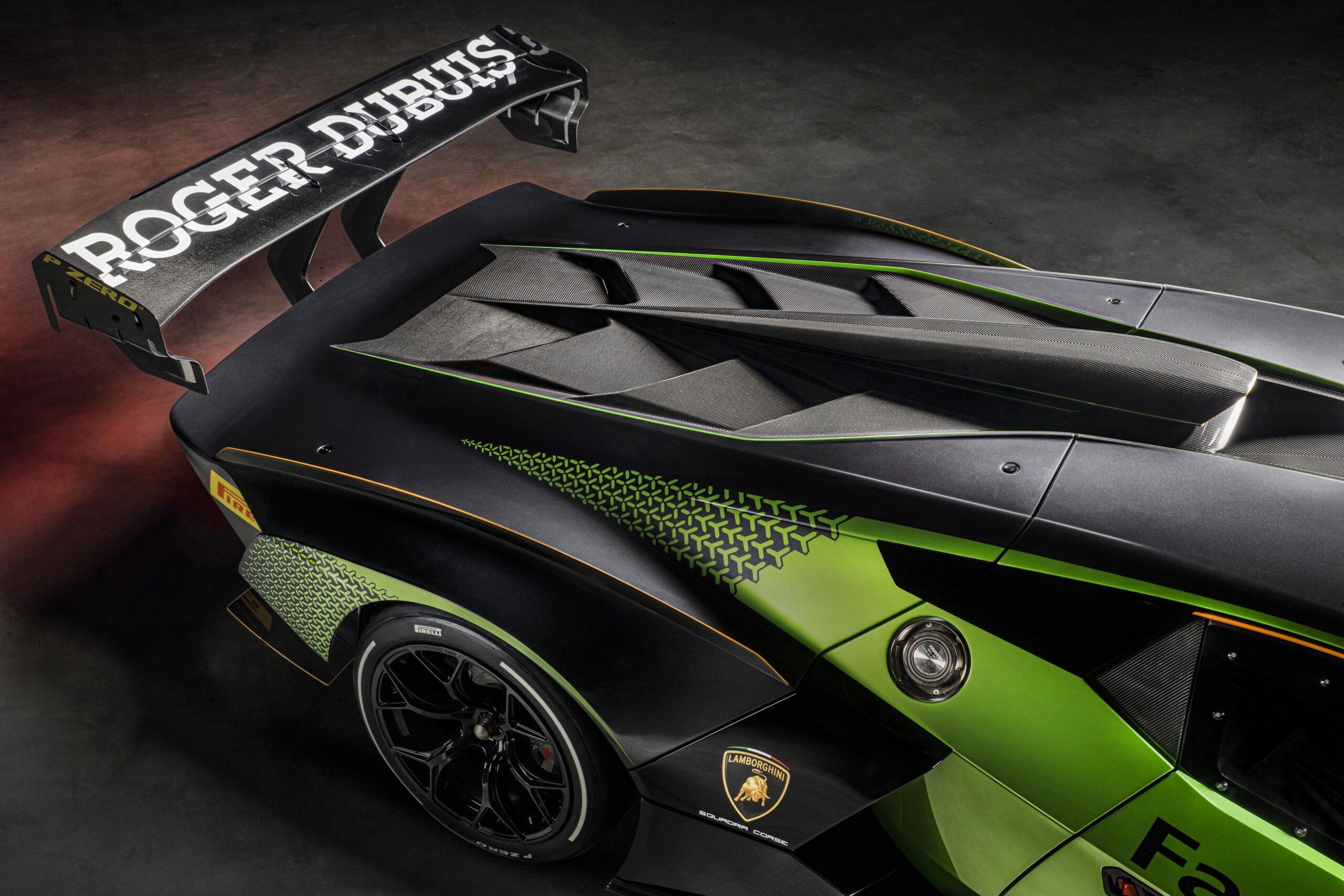Lamborghini Essenza SCV12 aleron
