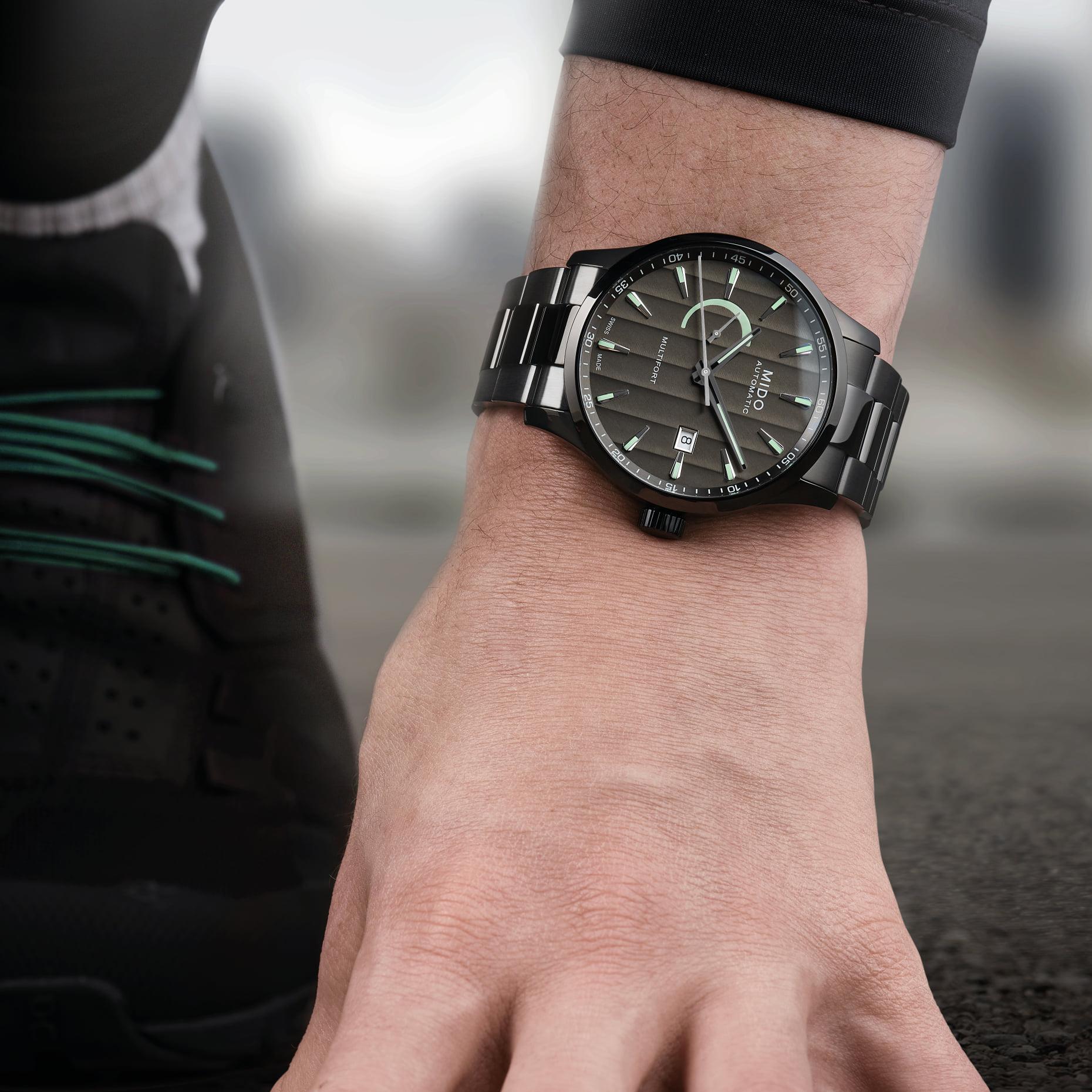 reglas para vestir un reloj