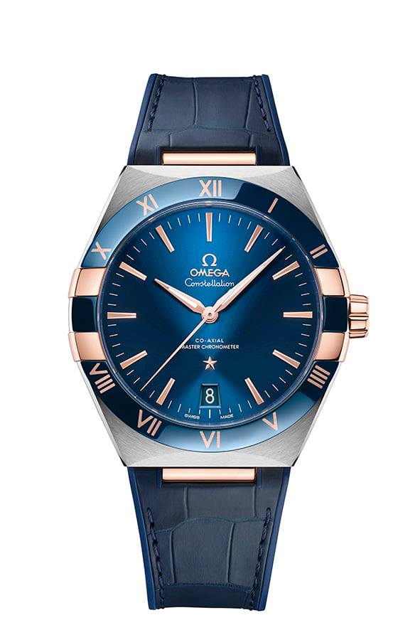 Omega Constellation Gents 41 mm acero y oro Sedna